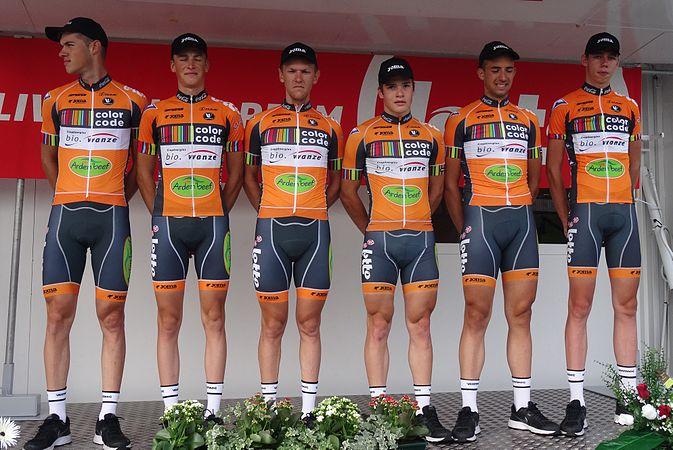 Péronnes-lez-Antoing (Antoing) - Tour de Wallonie, étape 2, 27 juillet 2014, départ (C019).JPG