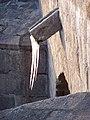 Písek, Kamenný most, rampouch (01).jpg