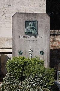 Pötzleinsdorfer Friedhof - Oskar Simony 1.jpg