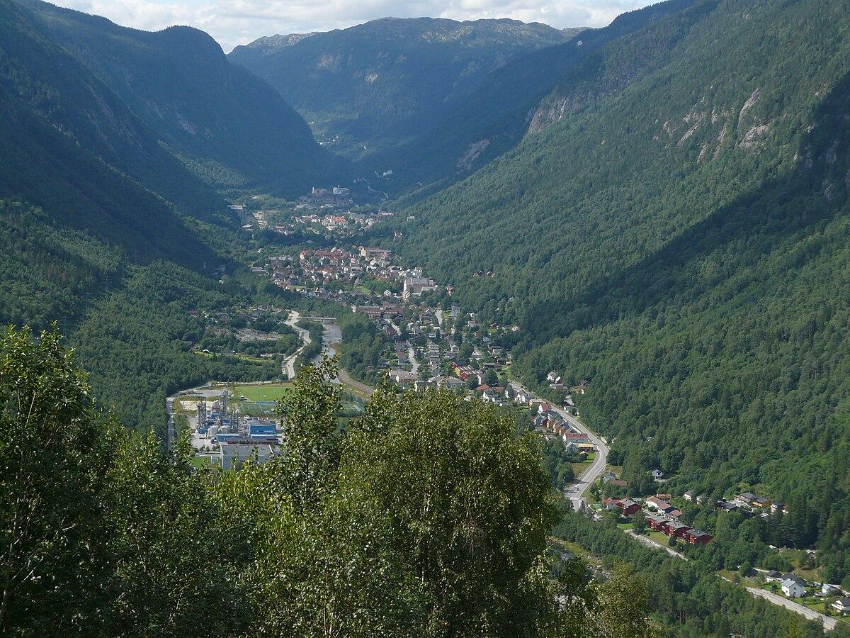 kjendiser i norge Rjukan