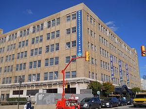 Pennsylvania Railroad Freight Building - Image: PA Railroad Freight Building, Philadelphia 01