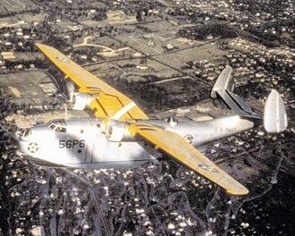 Martin PBM Mariner - A U.S. Navy PBM-1 of Patrol Squadron 56 (VP-56) in 1940.