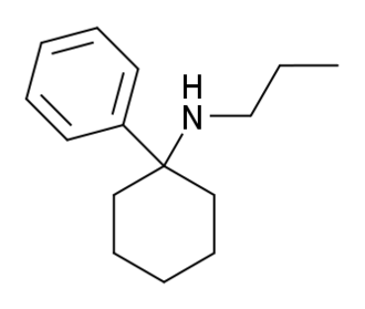 Phencyclamine - Image: PC Pr structure