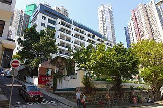 Historic building in Hong Kong