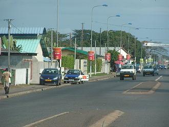 Port-Gentil - Image: POG Street 1