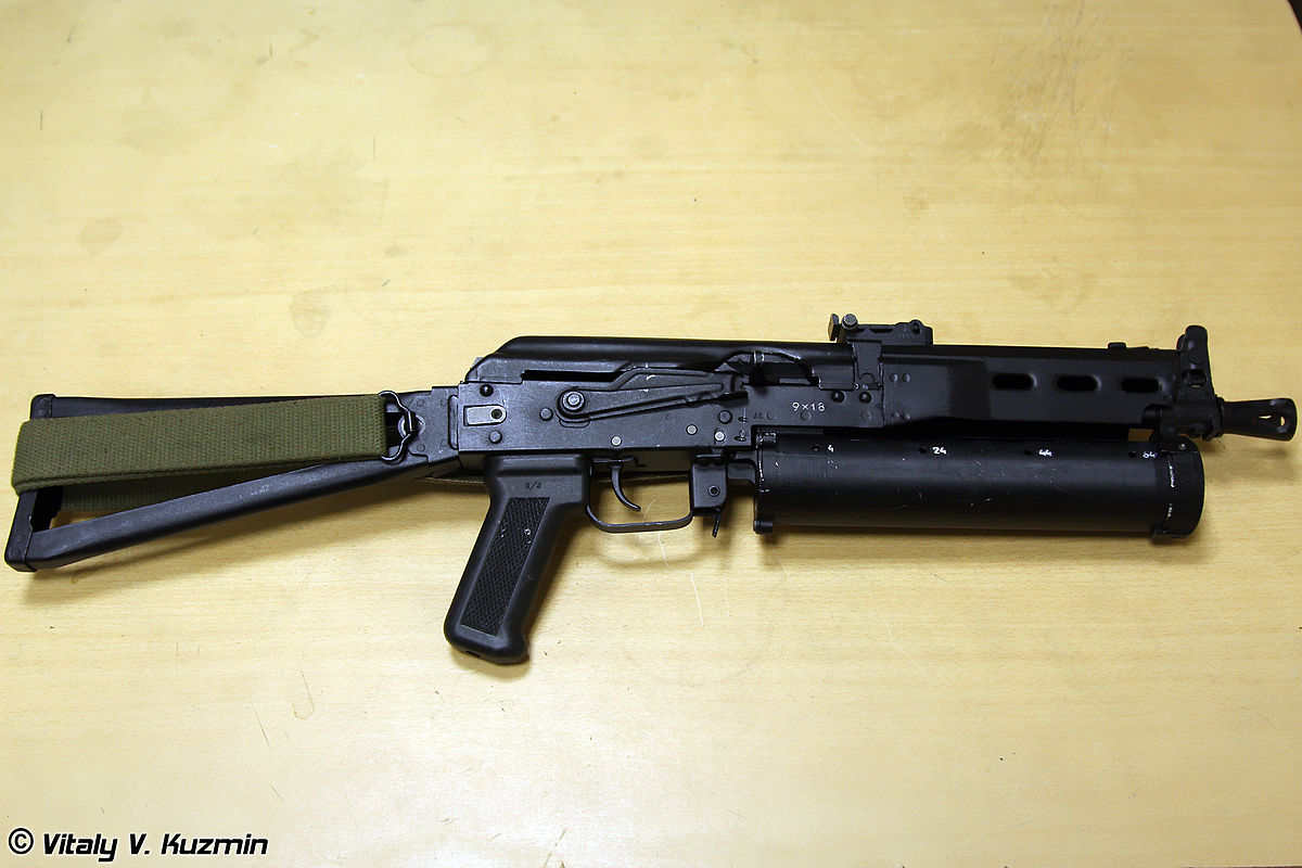 picture regarding Polish Ak 47 Receiver Template Printable named PP-19 Bizon - Wikipedia