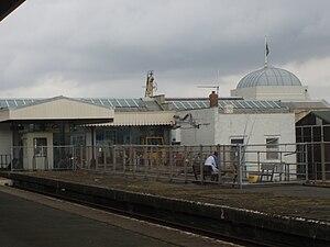 Ryde Pier Head railway station - Image: PRPH Dome 77