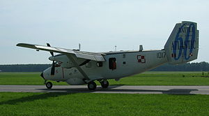 PZL M28 Skytruck - PZL M28B Bryza 1R in a commemorative livery