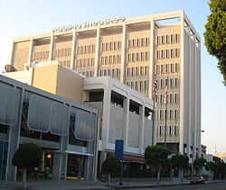 Pacific Theatres headquarters on Robertson Blvd.