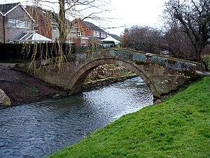 Romanby - Packhorse bridge across Willow Beck at Romanby