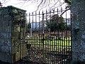 Padlocked cemetery - geograph.org.uk - 334036.jpg