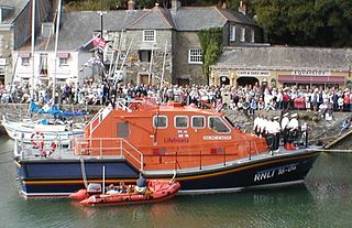 <i>Tamar</i>-class lifeboat the latest type of UK slipway-launched lifeboat
