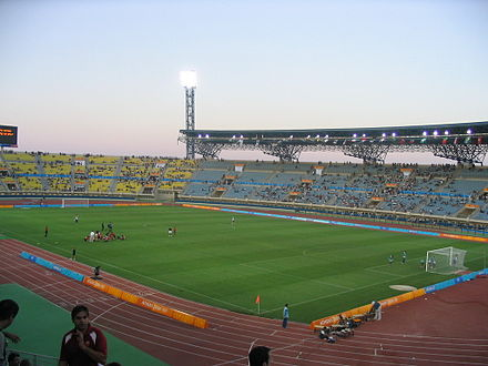 Pankritio Stadium during the 2004 Summer Olympics Football tournament. Pagkritio.jpg