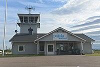 Pajala lufthavn.   JPG