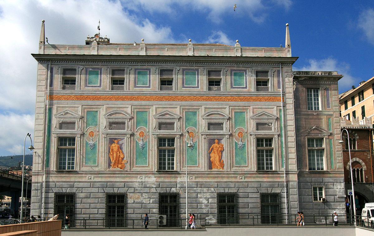 Genoa Italy Palazzo San Giorgio