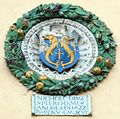 Palazzo d'Arnolfo, stemma pazzi 1515-16.JPG