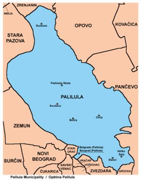 kotez beograd mapa Palilula, Belgrade   Wikipedia kotez beograd mapa