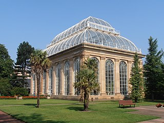 botanical garden in Edinburgh, Scotland
