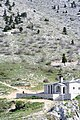 Panagia chapel and a Monk.jpg