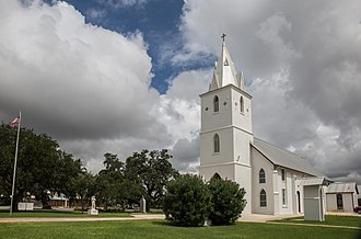 Panna Maria, Texas - Immaculate Conception Catholic Church