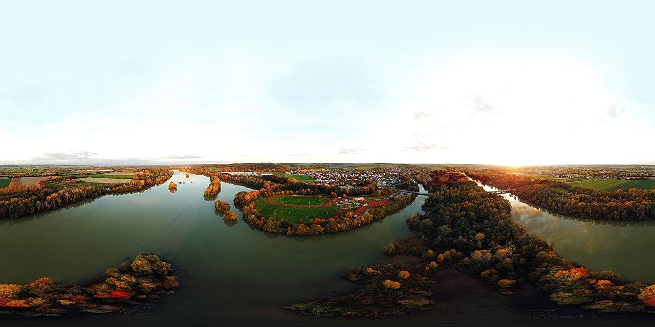 Equirectangular Panorama of Mamming