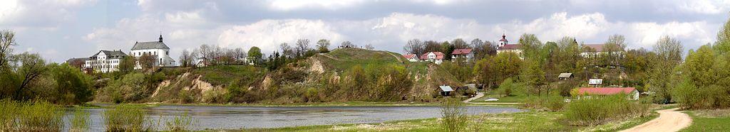 Panorama Drohiczyna widok od strony południowej