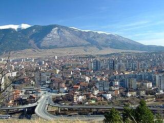 Dupnitsa Place in Kyustendil, Bulgaria
