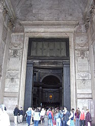 Pantheon (Rome) entrance.jpg