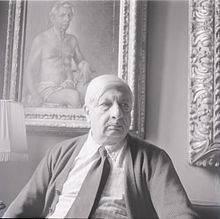 Giorgio de Chirico ritratto da Paolo Monti nel 1970. Fondo Paolo Monti, BEIC