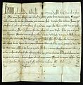 Papal Bull by Honorius III dated 1219.JPG