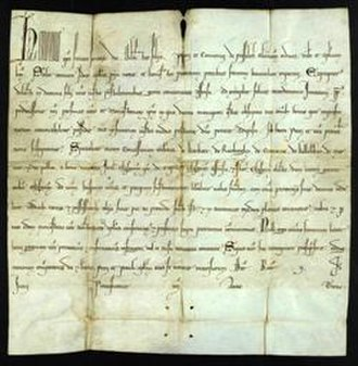 Public Record Office of Northern Ireland - Papal bull issued by Honorius III in 1219