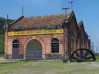Paranapiacaba - The Funicular de Paranapiacaba museum