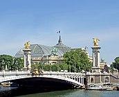 Paris, Pont Alexandre III & Grand Palais, June 2014.jpg
