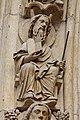 Paris - Cathédrale Notre-Dame - Portail du Jugement Dernier - PA00086250 - 060.jpg