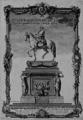 Paris Louis XV Statue équestre inaugurée 20-06-1763.png