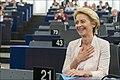Parliament elects Ursula von der Leyen as first female Commission President (48300922412).jpg