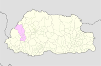 Paro Bhutan location map.png