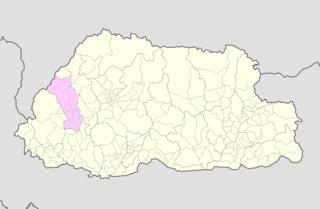 Dopshari Gewog Gewogs in Paro District, Bhutan