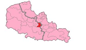 Pas-de-Calais's 11th constituency - Pas-de-Calais' 11th constituency shown within Nord-Pas-de-Calais