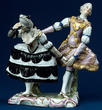 Jean-Georges Noverre - Another Ludwigsburg porcelain group, 1760-63