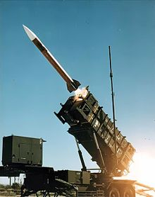 MIM-104 Patriot missile being launched