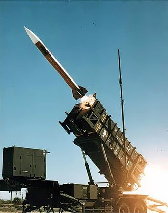 Missile Defense Agency - MIM-104 Patriot Surface-to-air missile (SAM) with anti-ballistic missile capabilities