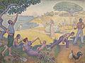 Paul Signac, 1893-95, Au temps d'harmonie, oil on canvas, 310 x 410 cm.jpg