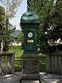 Payerbach - Wetterhäuschen im Kurpark lt Dehio 1908.jpg