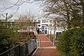 Pedestrian entrance to Wyvern Technology College, Fairoak - geograph.org.uk - 747072.jpg