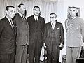 Pelagio Figueroa, Hugo Zepeda Barrios, Eduardo Frei, Ángel Faivovich, Coronel Letelier.JPG