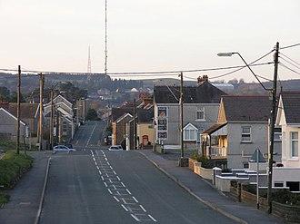 Pen-y-groes, Carmarthenshire - Pen-y-Groes village centre
