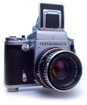 Pentacon Six - Pentacon six TL medium format camera
