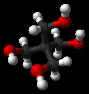 Pentaerythritol - Image: Pentaerythritol 3D balls