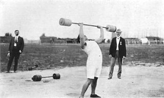 Weightlifting at the 1904 Summer Olympics – Mens two hand lift Weightlifting at the Olympics